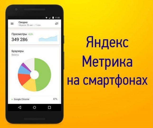 яндекс метрика для ios и android
