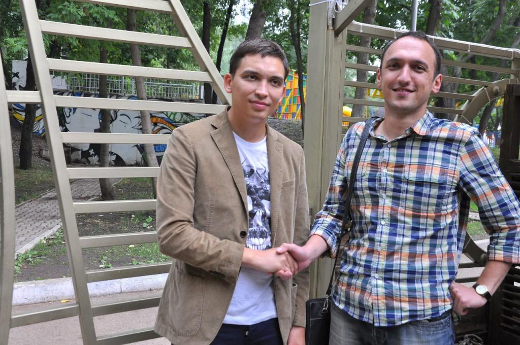 Марат Ахуньянов и Петр Осипов